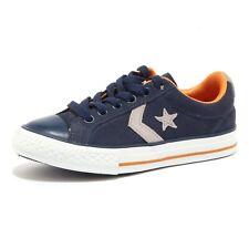 5151U sneaker bimbo CONVERSE  scarpe blu shoe kid