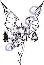 Dragon Tatoo Car Motocicleta De Vinilo De pegatina 07