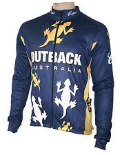 Radtrikot skaide ciclismo retro negro//crema de manga larga también talla extragrande hasta 6xl
