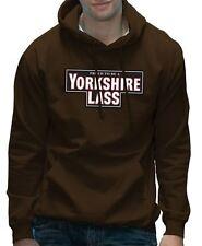Yorkshire Lass Funny York Tea Girls Hoodie