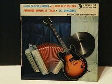 BROCOLETTI et son orchestre A quoi ca sert l amour 45S234
