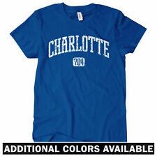 Charlotte Women's T-shirt - North Carolina Unc Uncc Hornets Tee - S to 2Xl