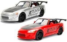 1:24 JDM 2001 Honda S2000 Hardtop (Silver / Red) Jada Diecast Model