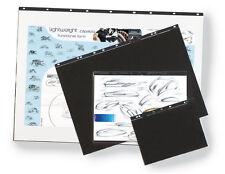 A1 A2 A3 A4 portfolio Ring Binder display presentation 5 Sleeves Acid Free