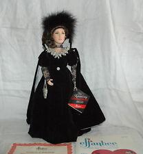 "Vintage 1985 Effanbee Diamond Jubilee 75th Anniversary Doll 18"" Coa W/Book Doll"
