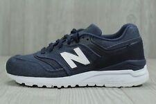 34 New Balance 997 WL997HDI Navy White Denim Womens Running Shoes Size 6.5, 7.5