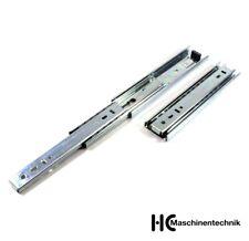Teleskopschiene H=45mm bis 50kg Vollauszug 200 - 800 mm Schwerlastauszug Stahl
