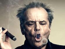 Jack Nicholson Portrait Cigar Hair Amazing Actor Giant Print POSTER Affiche