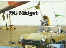 Mg Midget Mkiii folleto de ventas de 1976, 1977
