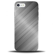 Shiny Metal Design Phone Case Cover | Titanium Print Glossy Plastic Steel C247