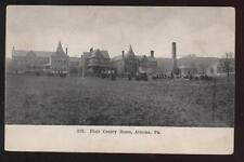 Postcard ALTOONA PA Blair County Home 1908