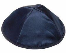 LOT 1,10,25,50,100psc Blue Satin Kippah Yarmulkah Cap Jewish Skullcap Kippa