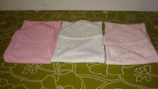 New Lollypop Lane 3 pack Cuddle Bath Robes Towel 75 X 75 cm - Pink