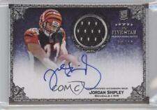 2010 Topps Five Star #159 Jordan Shipley Cincinnati Bengals Rookie Football Card
