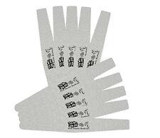 Grey Rhombus Salon Emmery Nail File 100 / 180 Grit Nails Files Manicure Flag