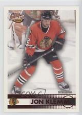 2002-03 Pacific Complete Red #331 Jon Klemm Chicago Blackhawks Hockey Card
