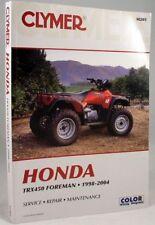 NEW Honda Atv TRX450 450 Foreman Repair Manual NEW!