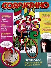 Corriere dei Piccoli 23 1992 con maxi poster Paolo Vallesi - gioco GIJOE