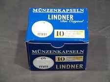Lindner 10 Stück  Münzkapseln 35-50 mm nach Wahl