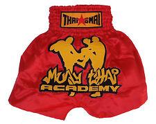 Short Boxe Thailandaise / Muay Thai Academy THAISMAI satin toutes tailles