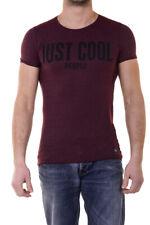 T-Shirt Die'M C Couture T-Shirt Sweatshirt -50% Herren Bordeaux IMC78