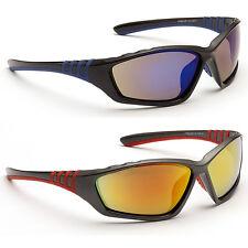 Nivel del ojo para Hombre Clásico Abrigo Armour Diseñador Gafas De Sol Deportivas Rojo o Azul