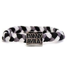 OFFICIAL Danny Avila Ibiza Charity Woven Wristband Grey BLK Bracelet RRP £20.00