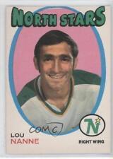 1971-72 O-Pee-Chee #240 Lou Nanne Minnesota North Stars Hockey Card