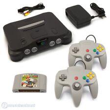 Nintendo 64 Konsole + 2 Controller + Super Mario und Zelda N64 Spiele