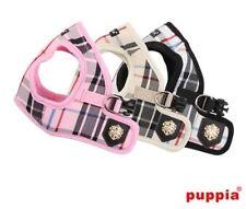 Puppia Choke Free Dog Harness - Vest - Junior Plaid B - Pick Size & Color
