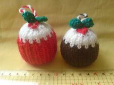 SALE     Puddings Christmas Stockings for TREE Robin Penguin Santa Snowman