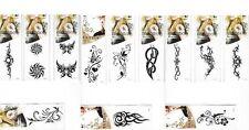 Tattoos Waterproof Temporary Body Art Sticker Skin Tatoo Gift 12 DESIGN