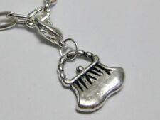 25 Tibet Silver Purse Clip On Charms Fit Chain Bracelet