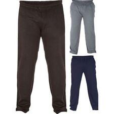 Hombre Duke D555 100% Algodón Tamaño King Plus Grande Pantalón Jogger POLAR
