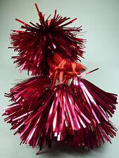 4 x Weihnachten Nikolaus Advent Lametta rot Damen Mädchen Haargummi - NEU