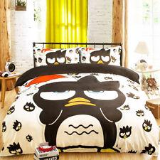 3D Cartoon Owl 699 Bed Pillowcases Quilt Duvet Cover Set Single Queen King CA