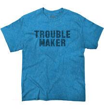 Trouble MakerFashion Rihanna Jay Z Hip Hop Skate Slogan T-Shirt Tee