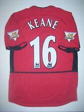 Roy Keane #16 Nike Manchester United Home Jersey Shirt Ireland 2004 2005