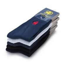 10 Pairs Men's 100% Cotton PIER Polo Casual Business Classic Dress Socks sZ 4-7