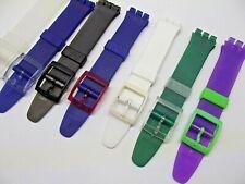 cinturini originali swatch gent 17 mm straps montre correa orologi Uhrenarmband