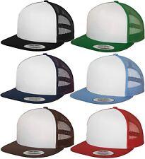 FLEXFIT YUPOONG ®  CLASSIC TRUCKER CAP MESH SNAPBACK  2-TONE NEW KAPPE URBAN ERA
