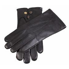 Dents Mendip Mens Wool Lined Leather Gloves- Presstud Fastening BNWT Style:51510