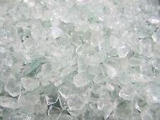 GLASSTEINE ab 10kg Glas Splitt 10-20mm Klar Glas Granulat Floristik Brunnen Deko