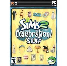 1 of 1 - The Sims 2: Celebration Stuff (PC: Windows, 2007)