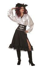 pirata costume costume donna donna carnevale gonna nera
