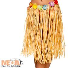 Falda de Hula Damas Vestido Elaborado Hawai Playa Traje de Disfraz para adulto para mujer tropical