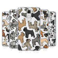 HEAD CASE DESIGNS DOG razza i modelli 9 Soft Gel Custodia per telefoni LG 3
