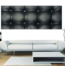Papier peint panoramique Capitoné noir 3619 Art déco Stickers