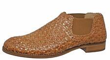 INTRECCIO Momino 4074 Chelsea Boots Stiefeletten Leder Cognac Gr. 37 - 41 Neu