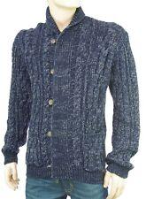 PEPE JEANS gilet cardigan homme bleu chiné CLARK BLUE PM701328 coloris 551